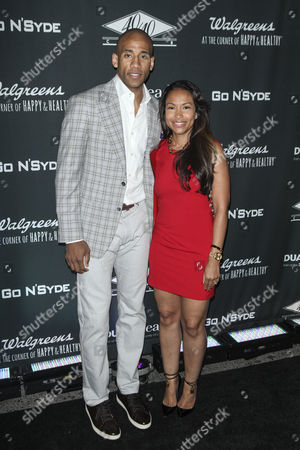 Dahntay Jones and Valeisha Butterfield