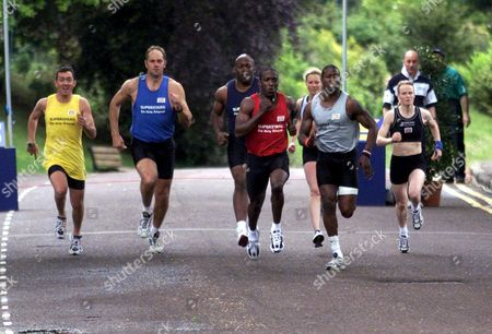 CHRIS BOARDMAN, STEVE REDGRAVE, JOHN REGIS, DWIGHT YORK, STEPH COOK, MARTIN OFFIAH AND ALEX COOMBER