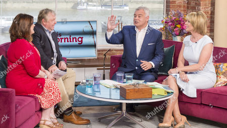 Stock Image of Petrie Hosken and Nick Ferrari with Eamonn Holmes and Ruth Langsford