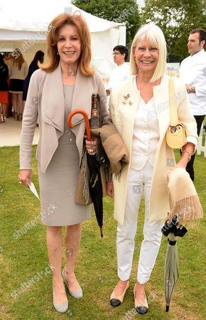 Stock Image of Stefanie Powers and Greta Morrison