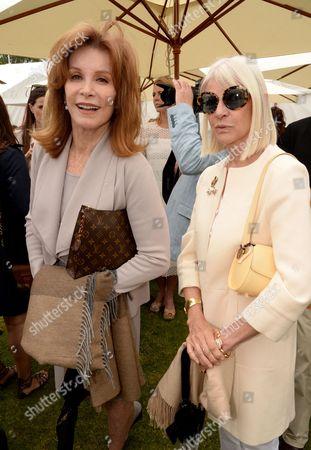 Stefanie Powers and Greta Morrison