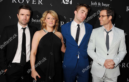 David Michod, Susan Prior, Robert Pattinson, Guy Pearce