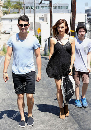 Editorial picture of Joe Jonas and Blanda Eggenschwiler out and about, Los Angeles, America - 12 Jun 2014