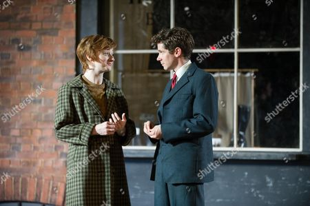 Picture shows: Jodie McNee (Maggie Hobson) and Karl Davies (Will Mossop)