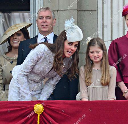 Catherine Duchess of Cambridge and Estella Taylor