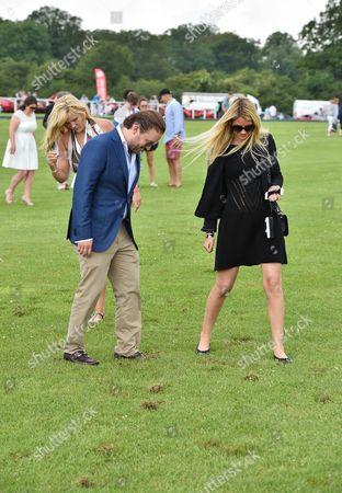 Editorial image of Rock 'N' Horsepower Polo Event, Hurtwood Park Polo Club, Cranleigh, Britain - 14 Jun 2014