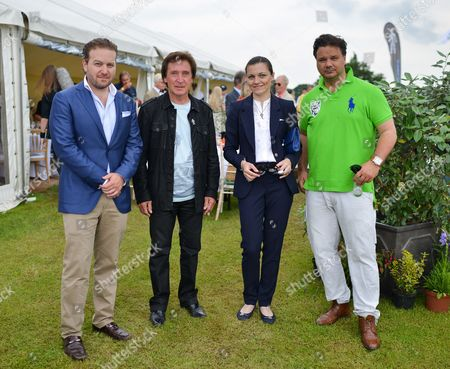 Editorial picture of Rock 'N' Horsepower Polo Event, Hurtwood Park Polo Club, Cranleigh, Britain - 14 Jun 2014