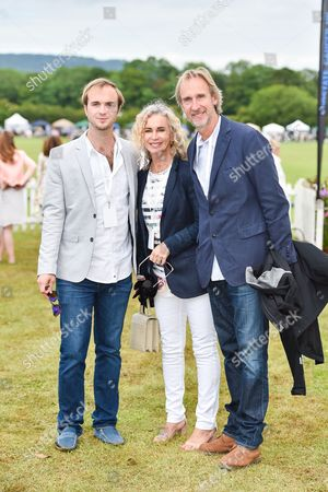 Harry Rutherford, Angie Rutherford, Mike Rutherford