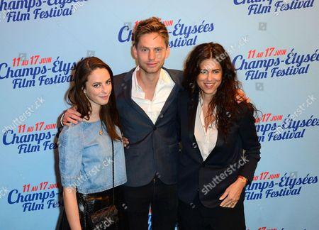 Kaya Scodelario, Alex Sagalchik and Francesca Gregorini