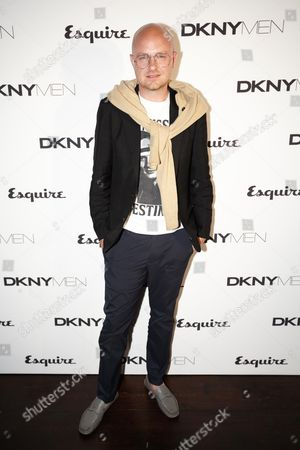 Editorial photo of Esquire & DKNY MEN Official Opening Night Party, London Collections: Men at One Embankment, London, Britain - 15 Jun 2014