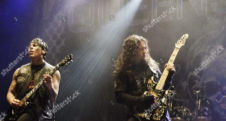 Queensryche - Parker Lundgren and Michael Wilton