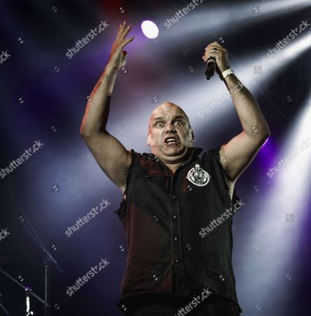 Blaze Bayley (original singer in Iron Maiden between 1993 - 1999) in 'Blaze Bayley vs Paul Di'Anno' (Paul Di'Anno was original singer in Iron Maiden between 1978 - 1981) performing Iron Maiden songs