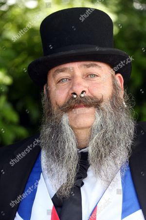 Editorial image of Collett Day Festival Beard Competition, Shepton Mallet, Britain - 14 Jun 2014