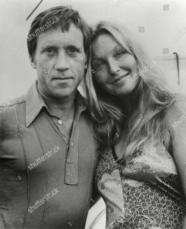 Vladimir vysotsky, popular Russian songwriter, musician and actor with marina vlady, in 1979.