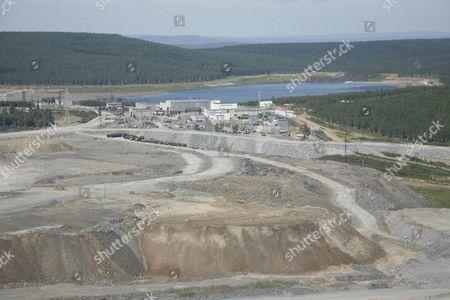 Krasnoyarsk territory, June 2, 2009, a view of yeruda, a little village nearly 750 kilometers from Krasnoyarsk, where Russian billionaire Mikhail prokhorov has got his official residential registration.
