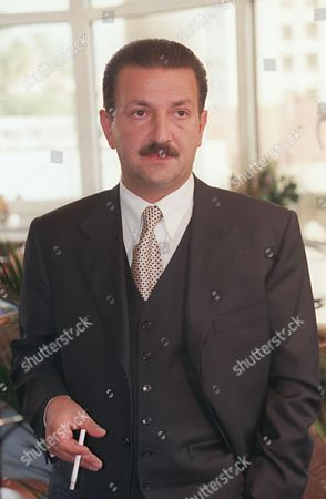 Stock Picture of Moscow, Russia, head of ast-praga telman ismailov, the praga (prague) is one of Moscow's oldest restaurants.