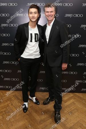 Choi Siwon and Pierre Denis