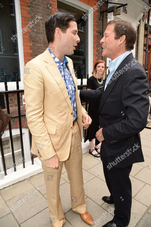 Mark Ronson and Arpad Busson