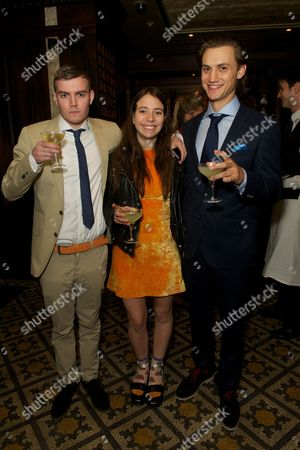 Tan Gillies, Elizabeth Hilfiger and Josh Mclellan