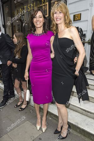 Cecilia Peck and Laura Dern