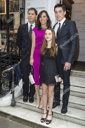 Cecilia Peck and family