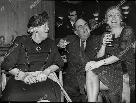 L-r: Margaret Rutherford Robert Morley And Elizabeth Larner.