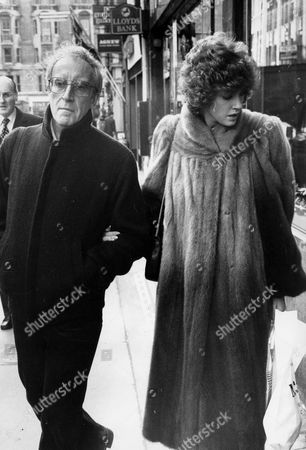 Editorial picture of PETER SELLERS AND LYNNE FREDERICK SHOPPING IN LONDON, BRITAIN