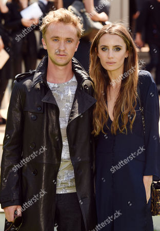 Stock Photo of Tom Felton and Jade Gordon