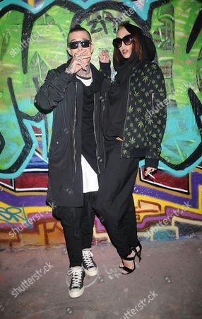 Jimmy Quaintance and Leia Contois