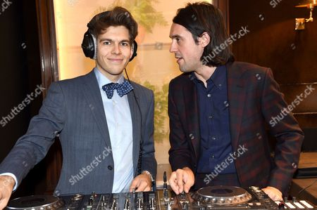 James Righton (Dressed in Dunhill) and Simon Taylor-Davis (Dressed in Dunhill)