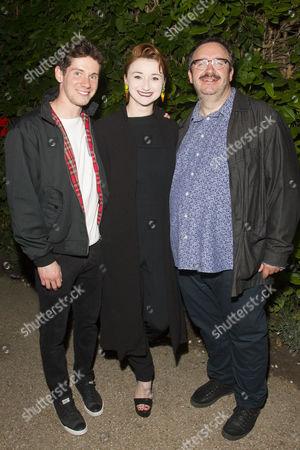 Karl Davies (Willy Mossop), Jodie McNee (Maggie Hobson) and Mark Benton (Henry Hobson)