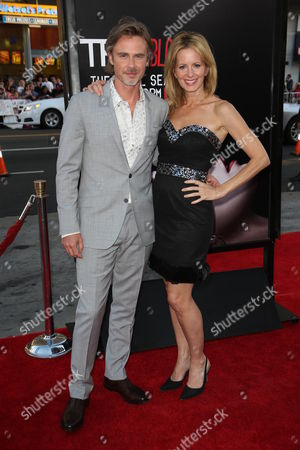 Stock Picture of Sam Trammell and Missy Yager