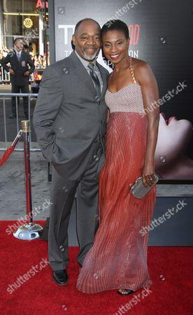 Stock Picture of Gregg Daniel and Adina Porter