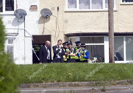 The Scene At Chells Grove Billesley West Midlands Where A Young Mother Yvonne Walsh And Her 9 Month Old Son Harry Were Found Murdered. (3/06/13).
