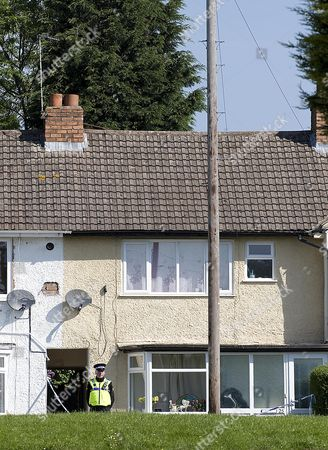 Stock Picture of The Scene At Chells Grove Billesley West Midlands Where A Young Mother Yvonne Walsh And Her 9 Month Old Son Harry Were Found Murdered. (3/06/13).