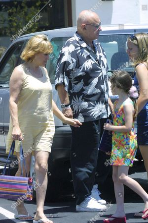 Editorial photo of ROD STEIGER SHOPPING WITH FAMILY IN MALIBU, CALIFORNIA, AMERICA - 16 JUN 2002