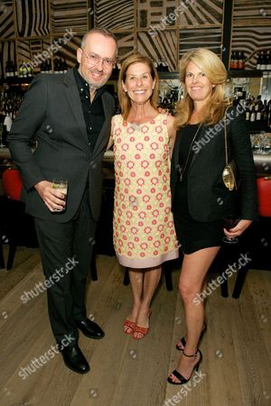 Jim Moore, Jo Levin and Madeline Weeks