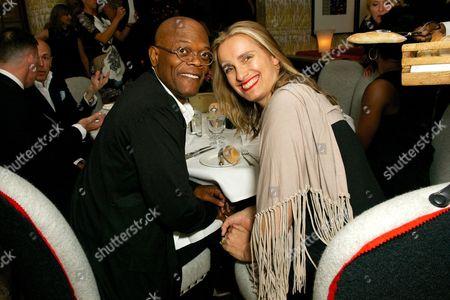 Samuel L. Jackson and Sarah Walter