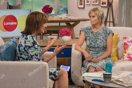 Lorraine Kelly with Freya North