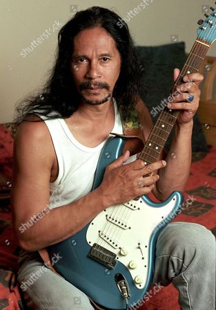 Editorial photo of LEON HENDRIX THE BROTHER OF JIMI HENDRIX, LOS ANGELES, AMERICA