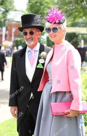 Eddie Jordan and wife Marie Jordan