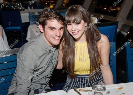 RJ Mitte and Claire Sinclair
