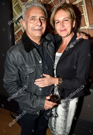 Hanif Kureishi and Caroline Michel