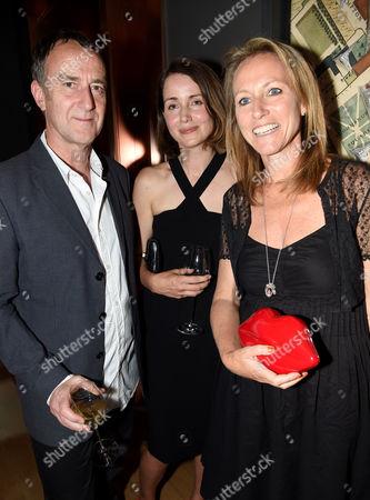 Angus Deayton, Charlotte de Botton and Allie Byrne Esiri