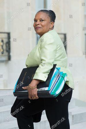 French Justice minister Christine Taubira