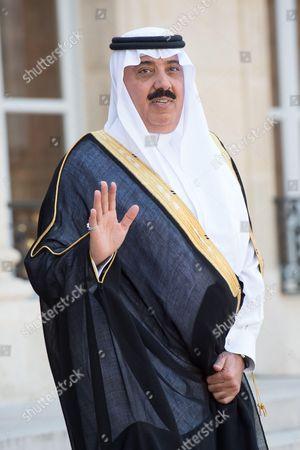 Stock Image of Saudi Prince Mutaib bin Abdullah Al Saud