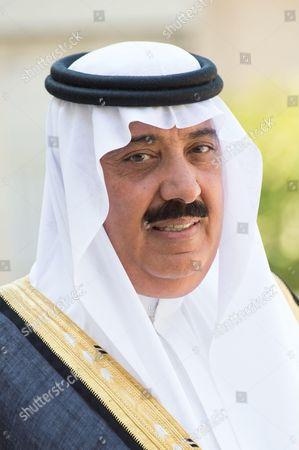 Stock Picture of Saudi Prince Mutaib bin Abdullah Al Saud