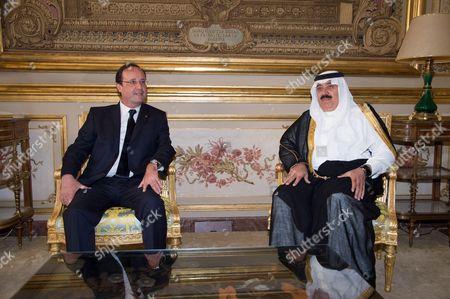 Editorial photo of Saudi Crown Prince Salman bin Abdulaziz al-Saud at the Elysee palace, Paris, France - 18 Jun 2014