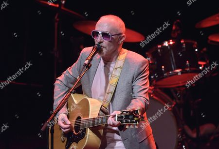 Editorial photo of Graham Parker and The Rumour in concert at La Cigale. Paris, France - 12 Jun 2014