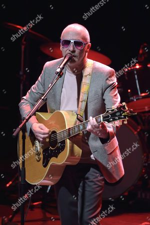 Editorial image of Graham Parker and The Rumour in concert at La Cigale. Paris, France - 12 Jun 2014